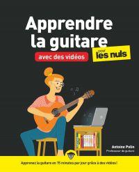 Image de couverture (Apprendre la guitare avec des vidéos pour les Nuls mégapoche)