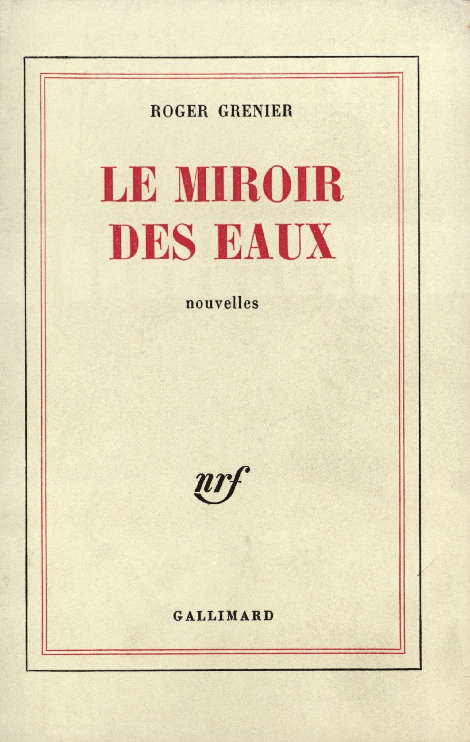 Le Miroir des eaux