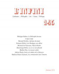 L'Infini N° 145