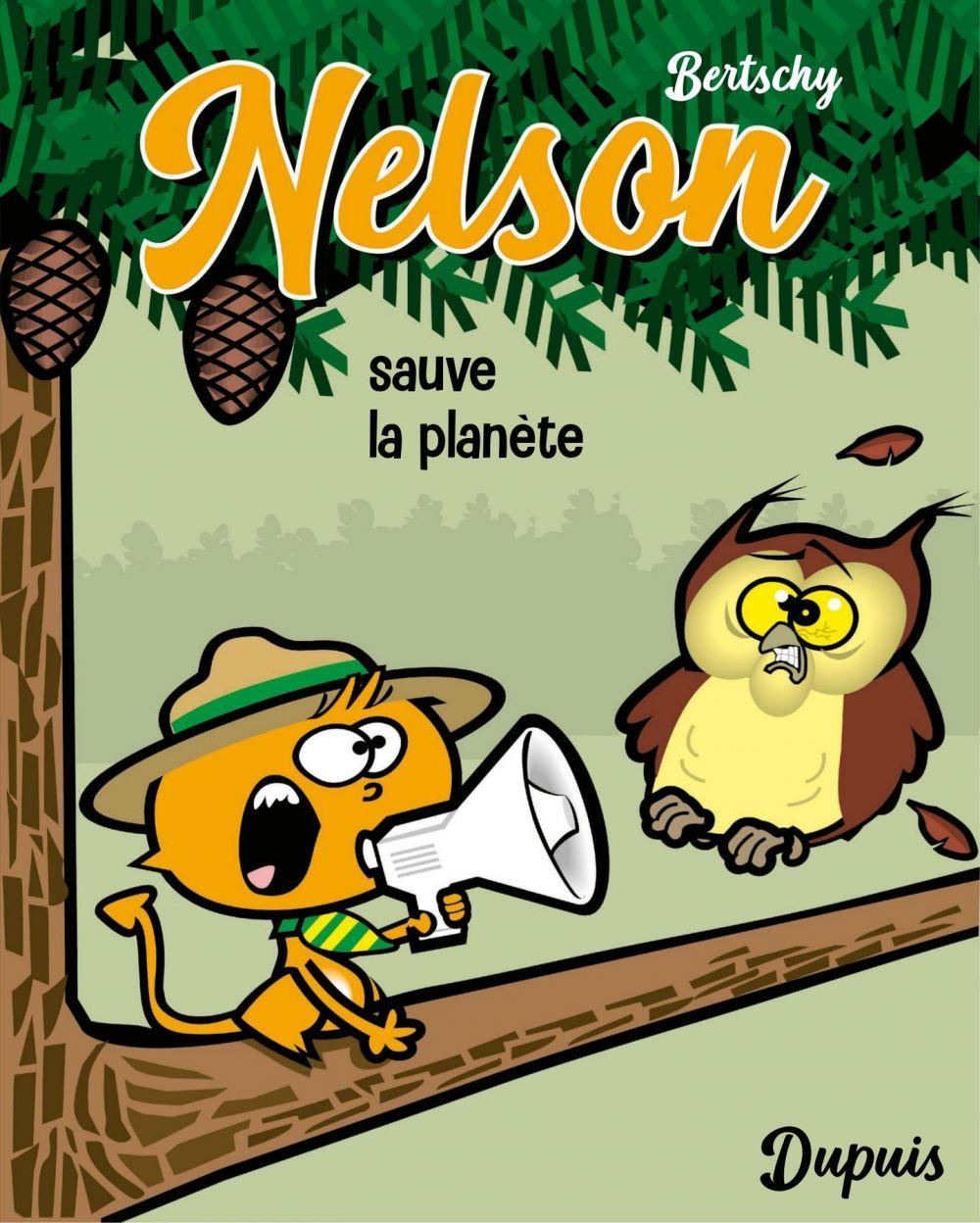 Nelson - Tome 2 - Sauve la planète (Petit format) |