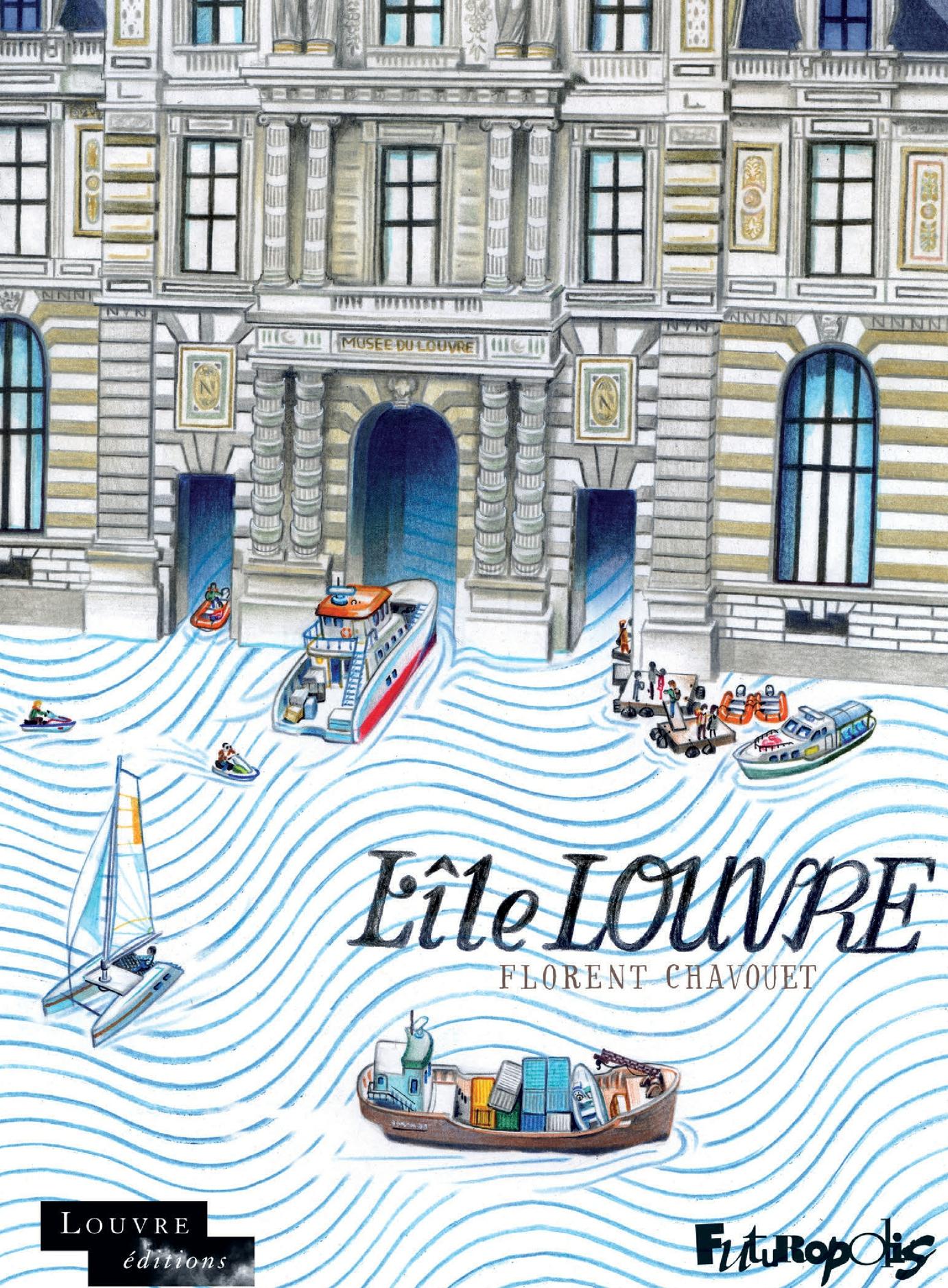 L'Île Louvre | Chavouet, Florent
