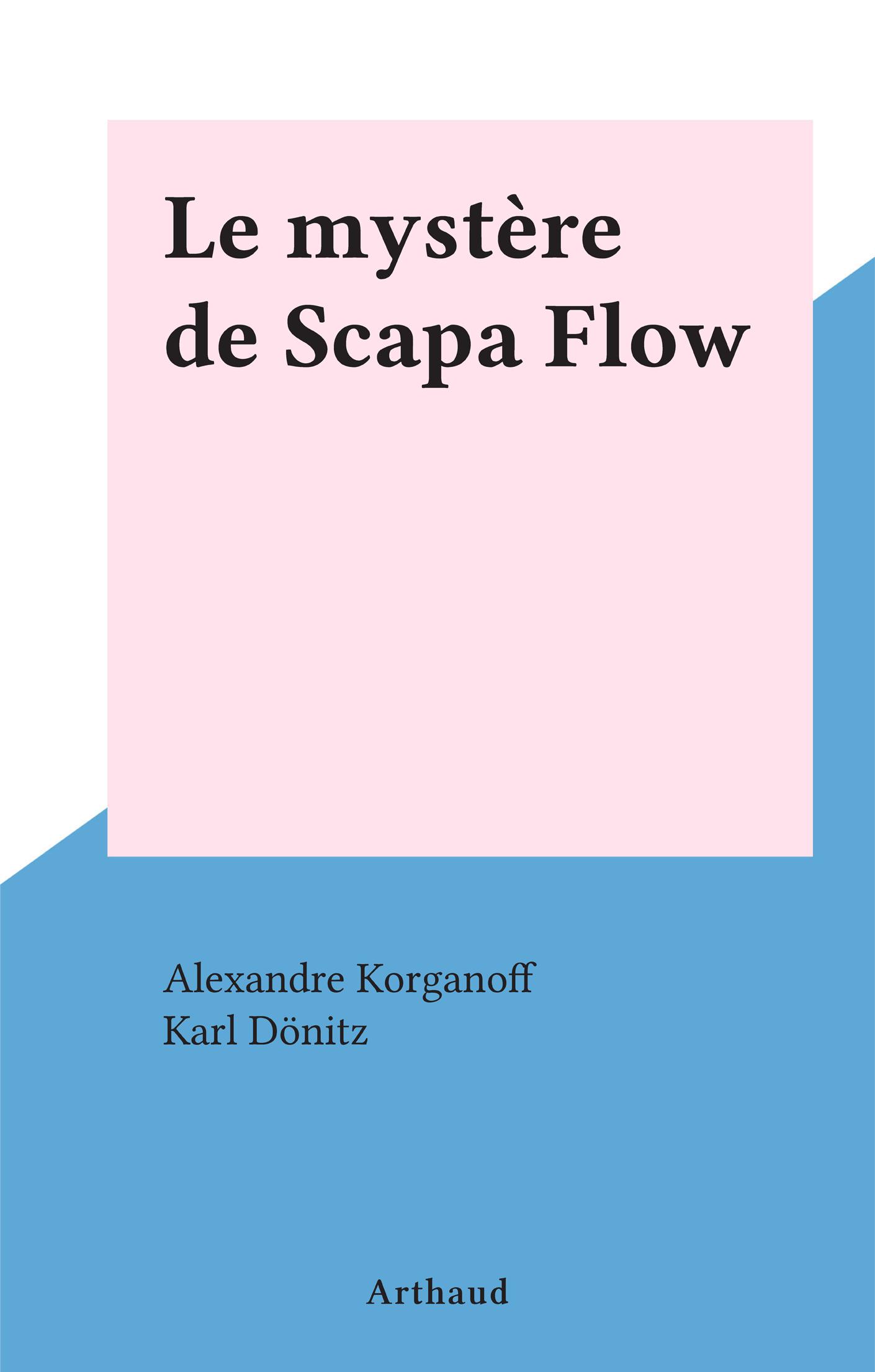 Le mystère de Scapa Flow