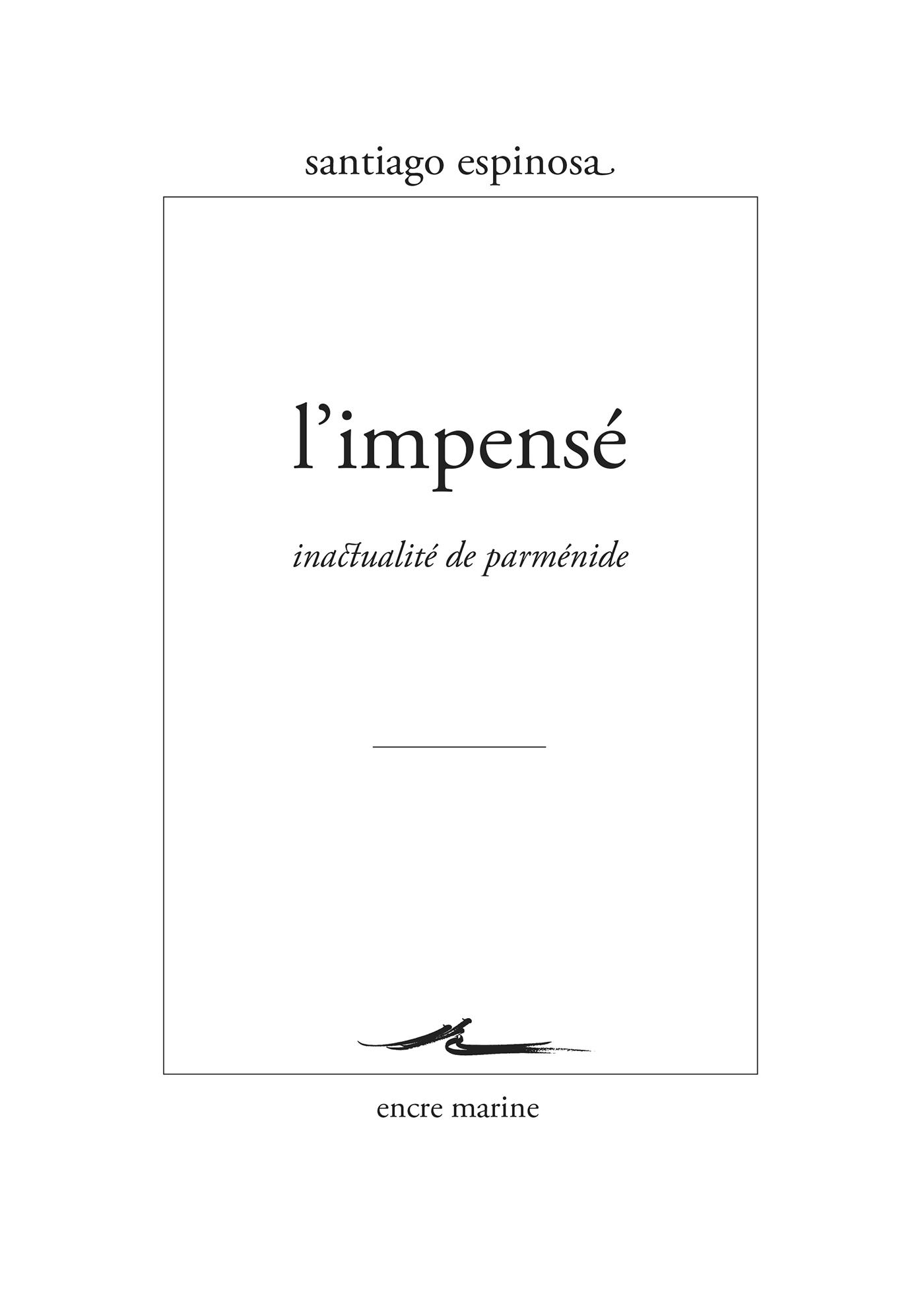 L'Impensé