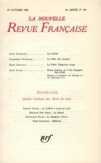 La Nouvelle Revue Française N' 190 (Octobre 1968)