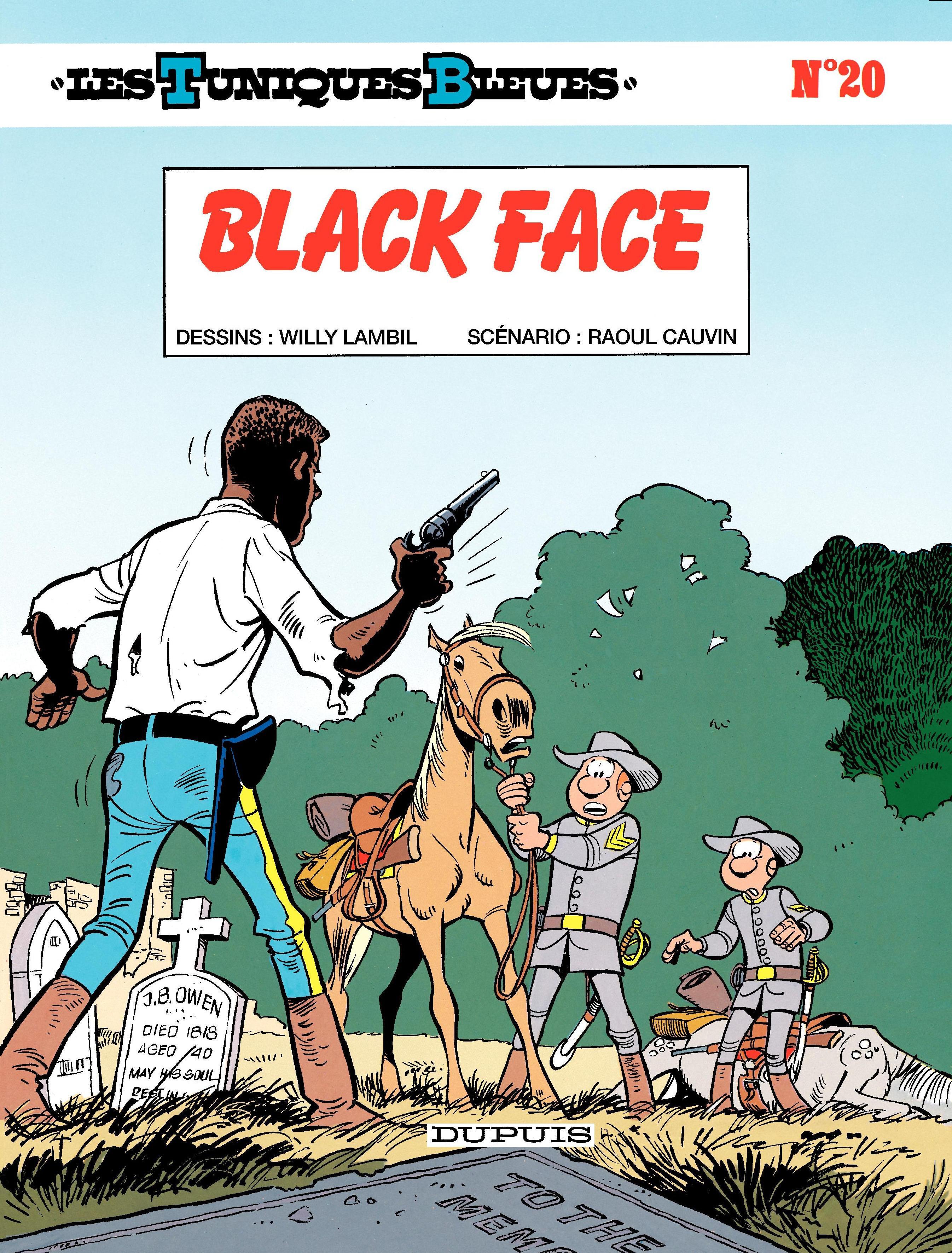 Les Tuniques Bleues - Tome 20 - BLACK FACE