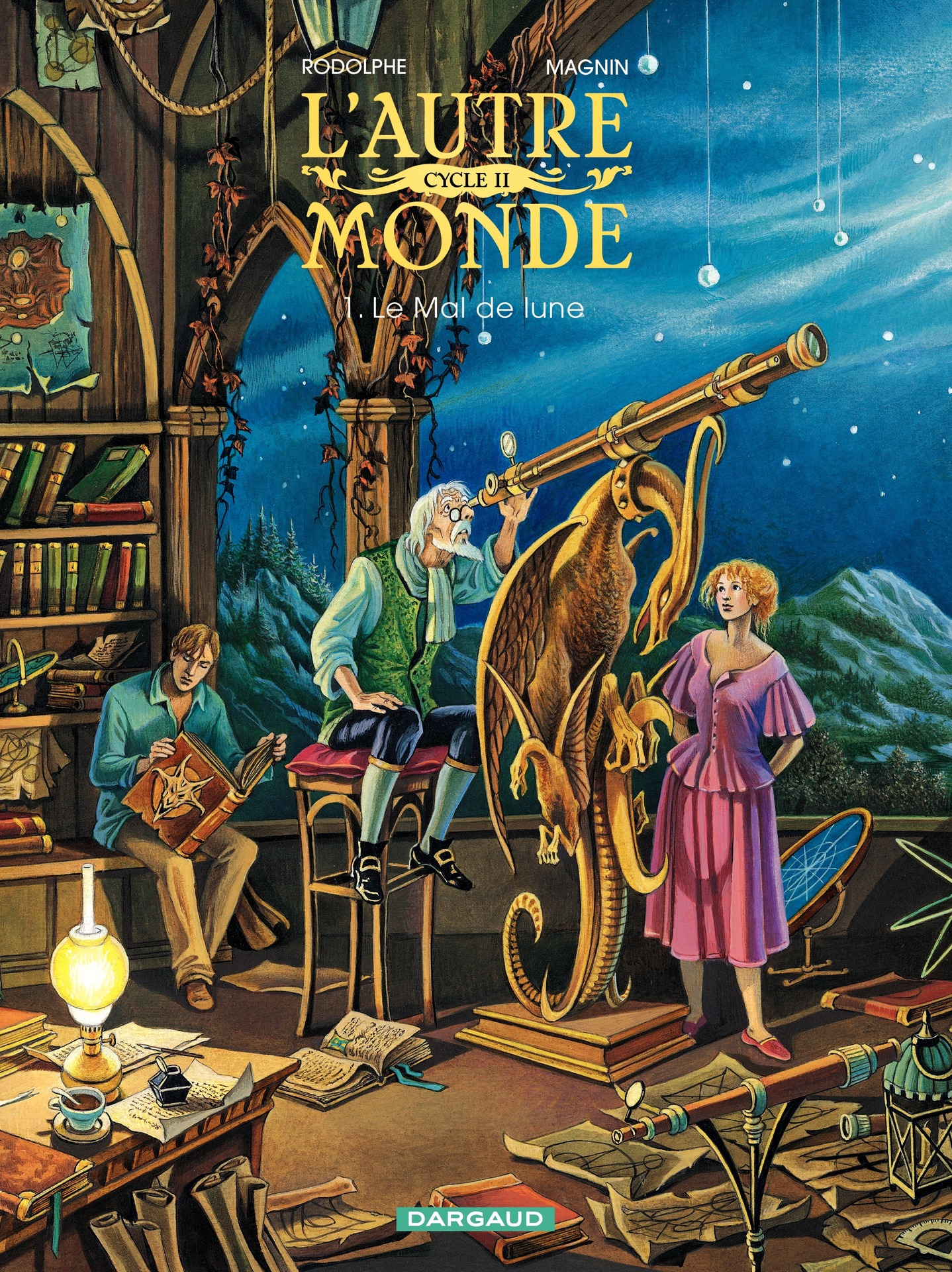 L'Autre Monde - Cycle 2 - Tome 1 - Le Mal de Lune Cycle 2 (1/2)