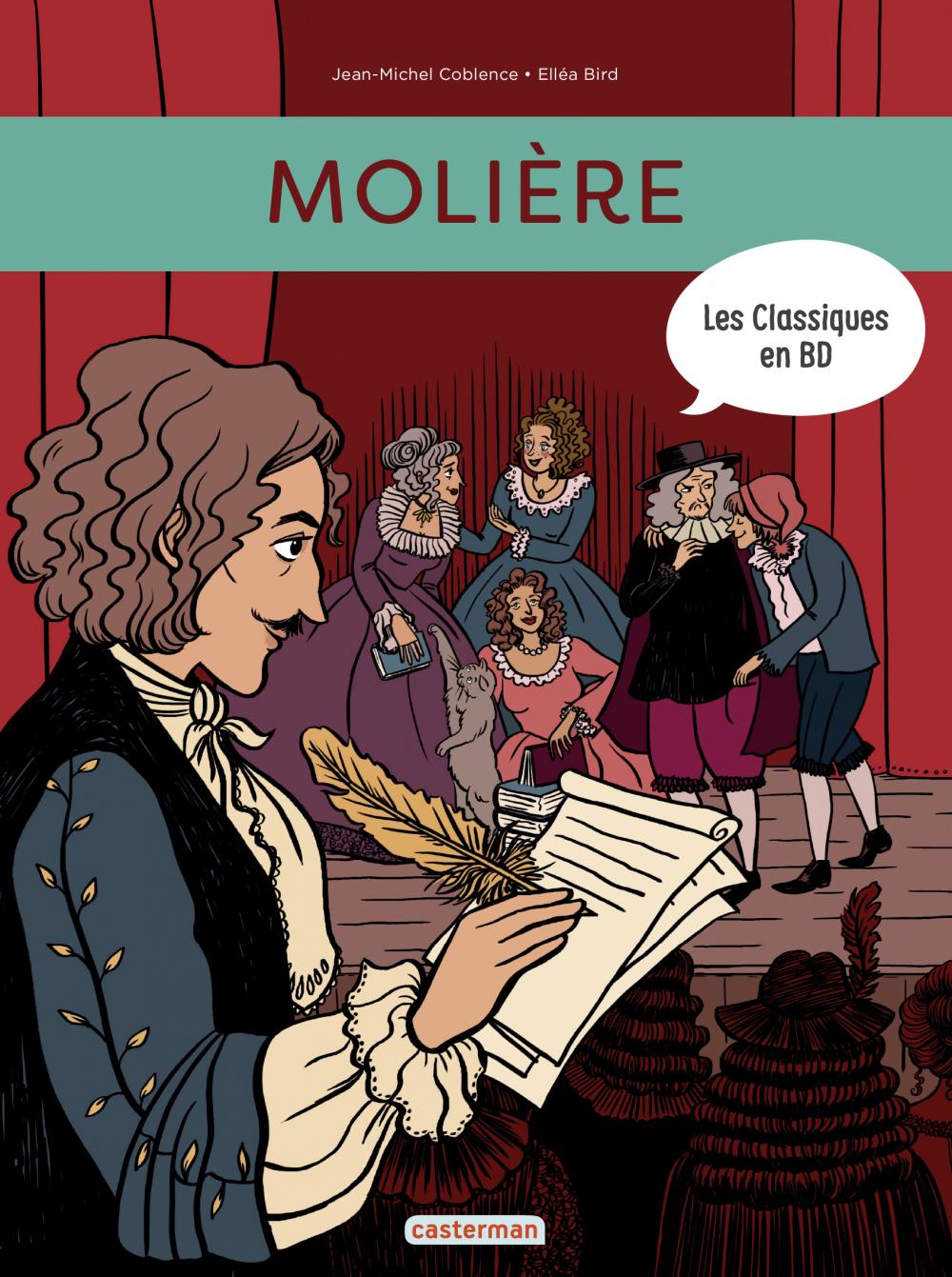 Les Classiques en BD (Tome 1)  - Molière |