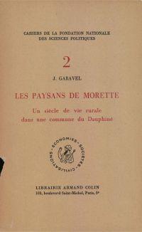 Les paysans de Morette