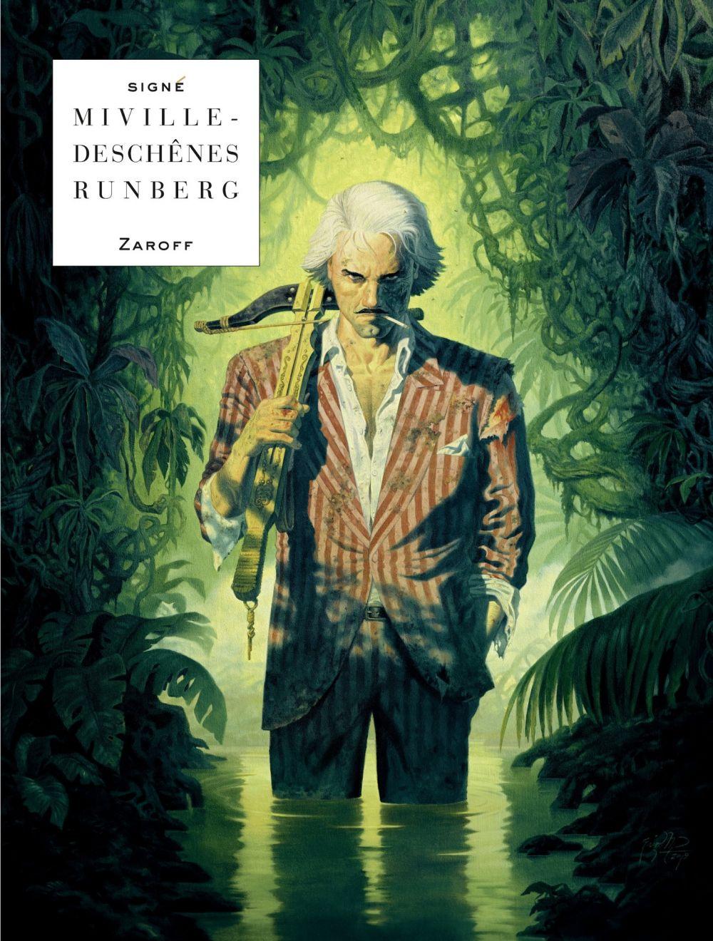 Zaroff | Runberg, Sylvain. Auteur