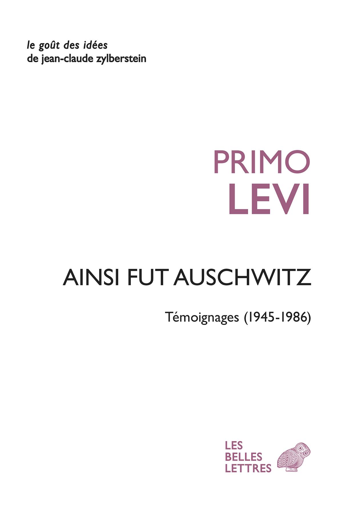 Ainsi fut Auschwitz