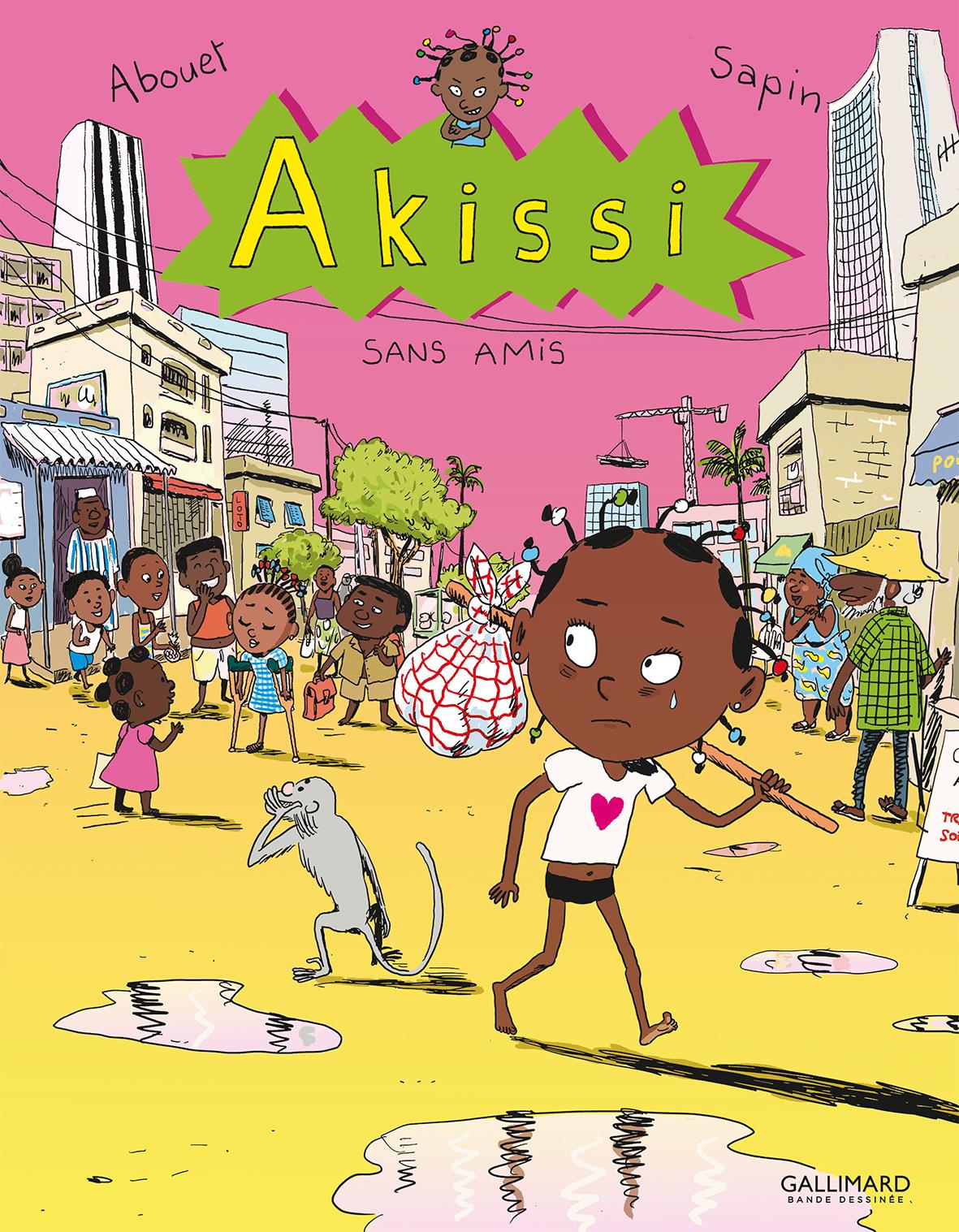Akissi (Tome 6) - Sans amis   Abouet, Marguerite