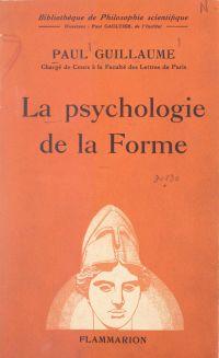 La psychologie de la forme
