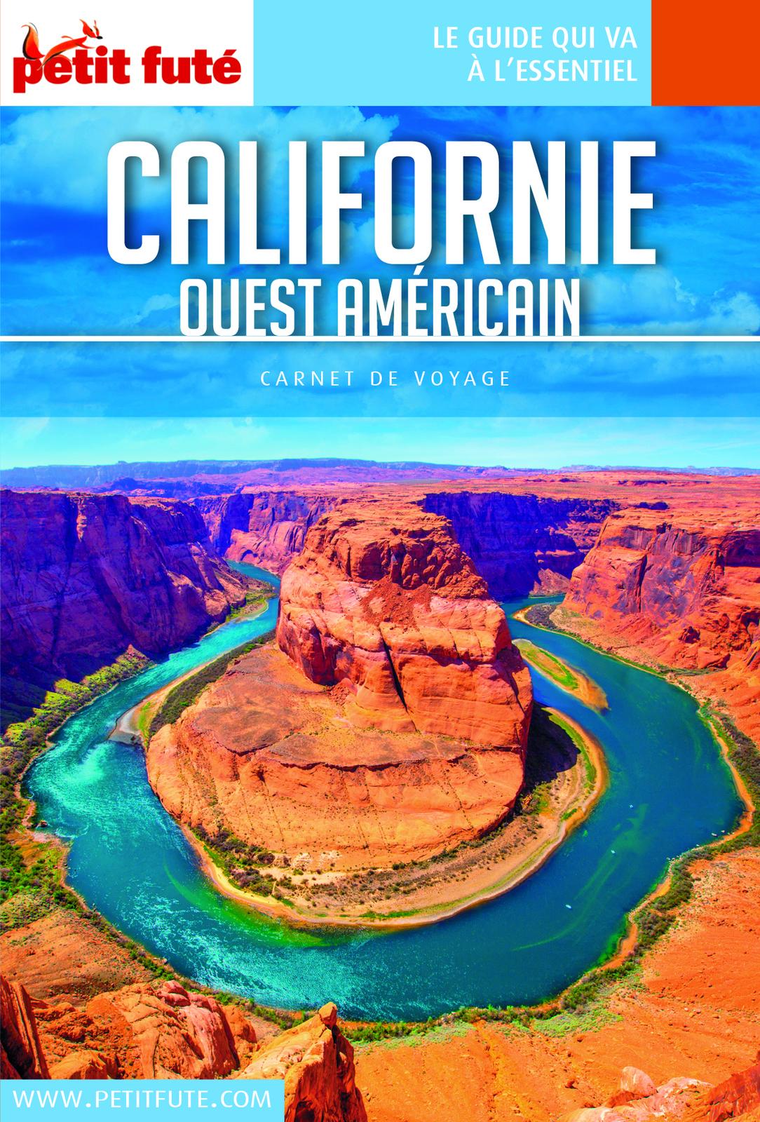 CALIFORNIE OUEST AMÉRICAIN 2018 Carnet Petit Futé