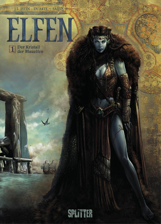 Vignette du livre Der Kristall der Blauelfen