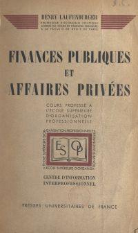 Finances publiques et affai...