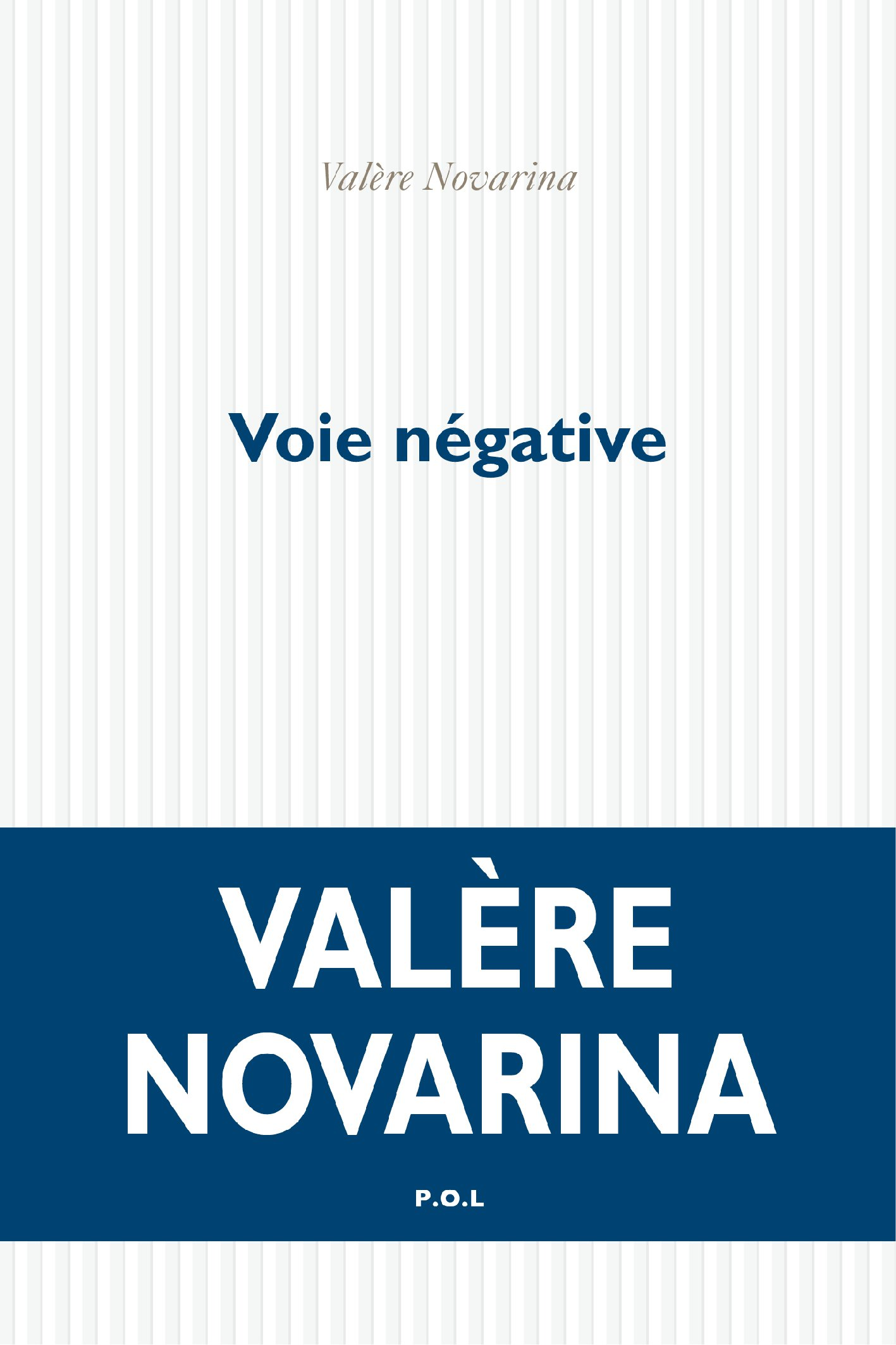 Voie négative