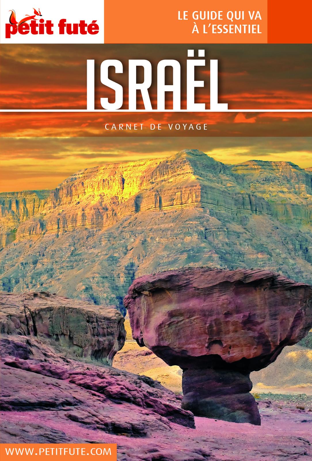 ISRAËL 2018 Carnet Petit Futé