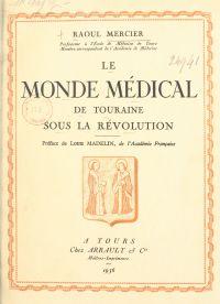 Le monde médical de Tourain...