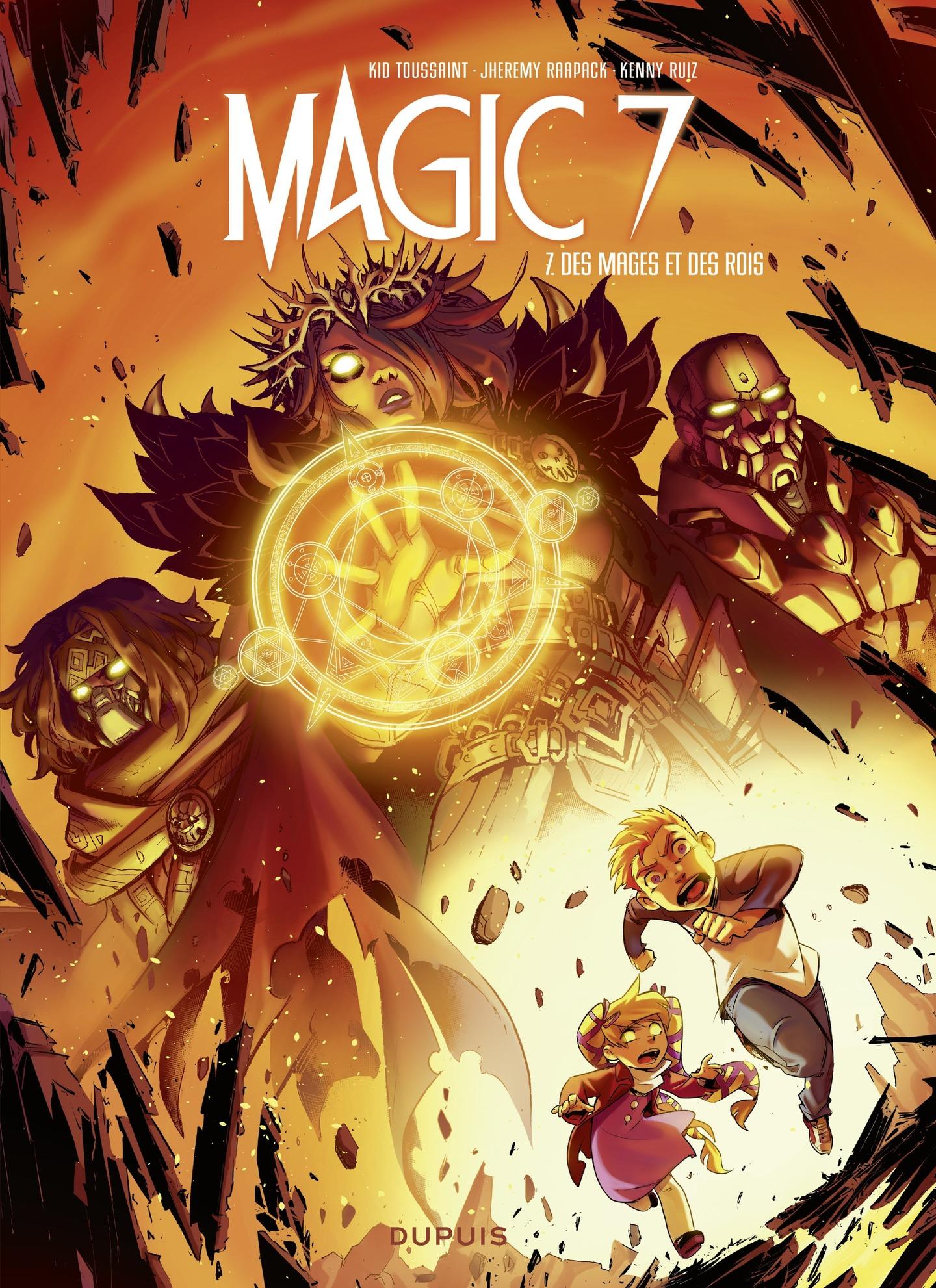 Magic 7 - tome 7 - Des mage...