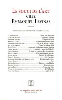 Le Souci de l'art chez Emmanuel Levinas