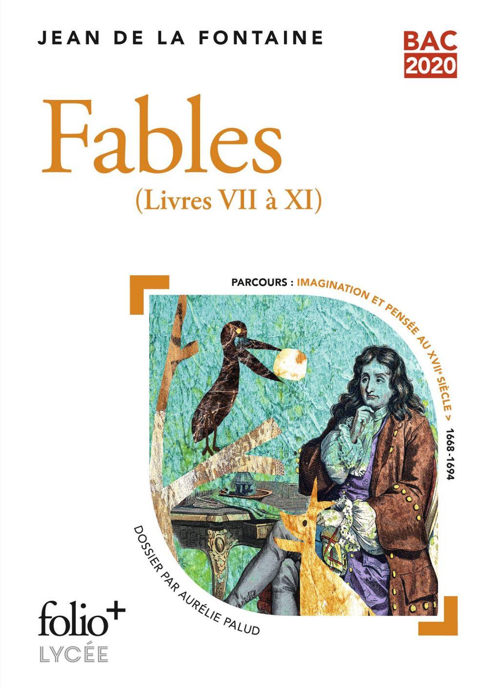 Fables - BAC 2021   de La Fontaine, Jean. Auteur