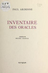 Inventaire des oracles