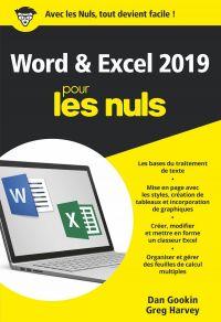 Image de couverture (Word et Excel 2019 pour les Nuls, poche, 2e édition)