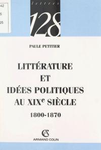 Littérature et idées politi...