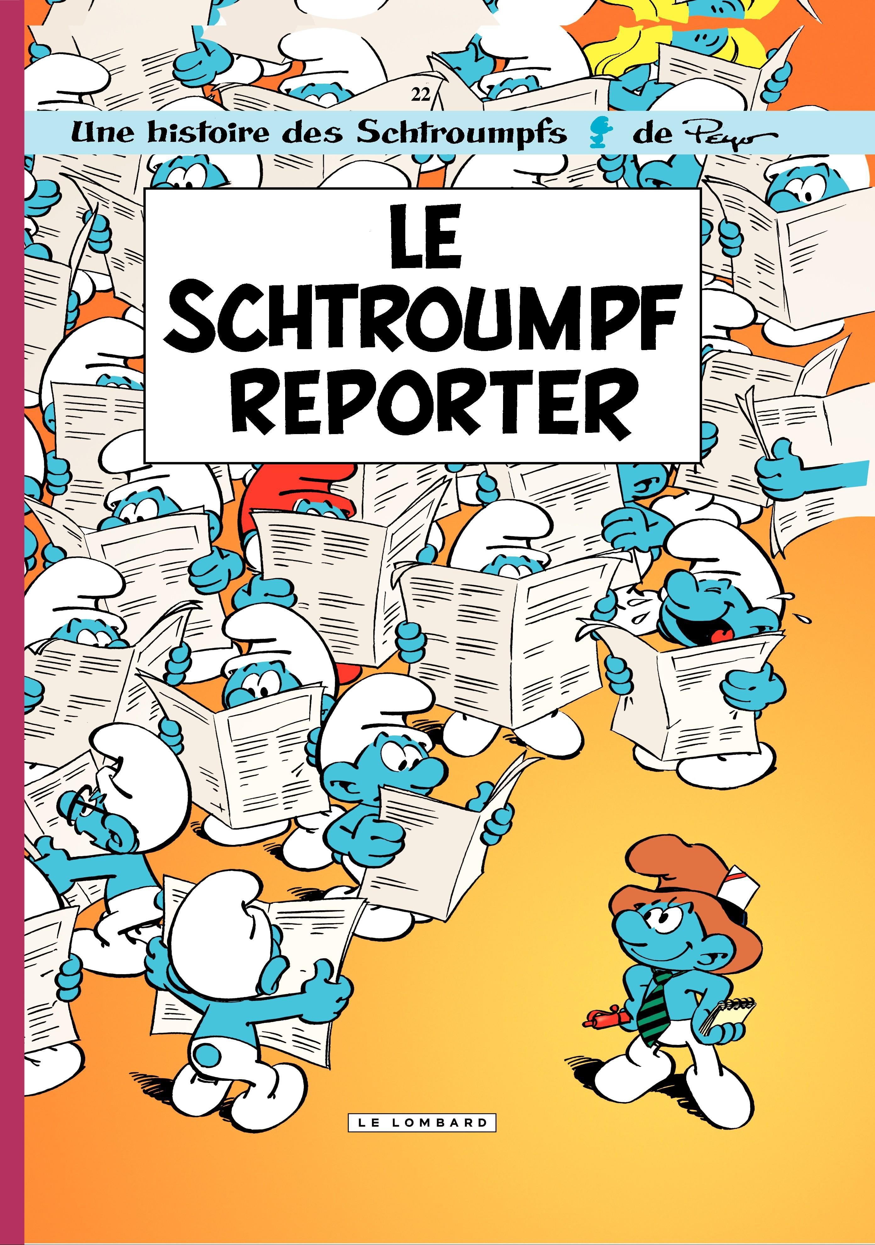Les Schtroumpfs - tome 22 - Le Schtroumpf reporter