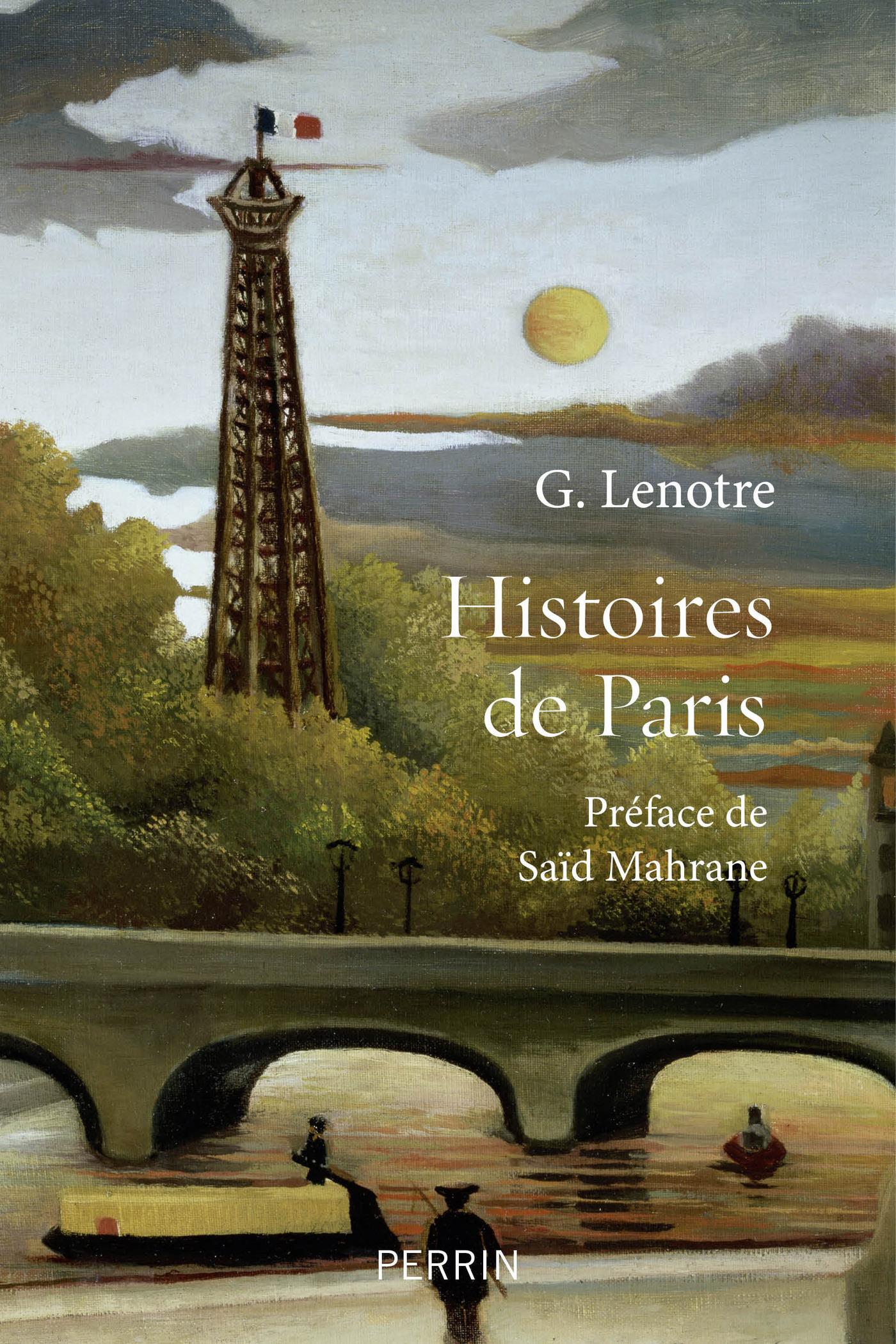 Histoires de Paris   MAHRANE, Saïd