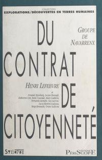 Du contrat de citoyenneté