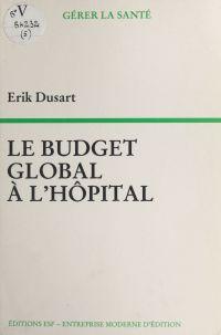 Le budget global à l'hôpital