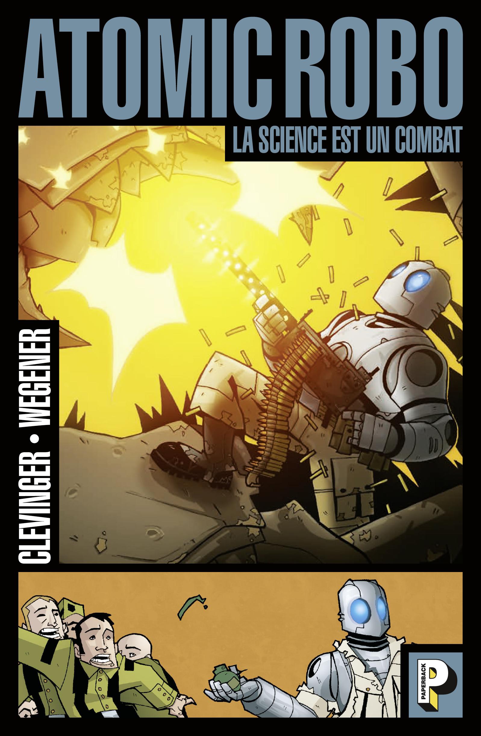 Atomic Robo (Tome 1)  - La ...