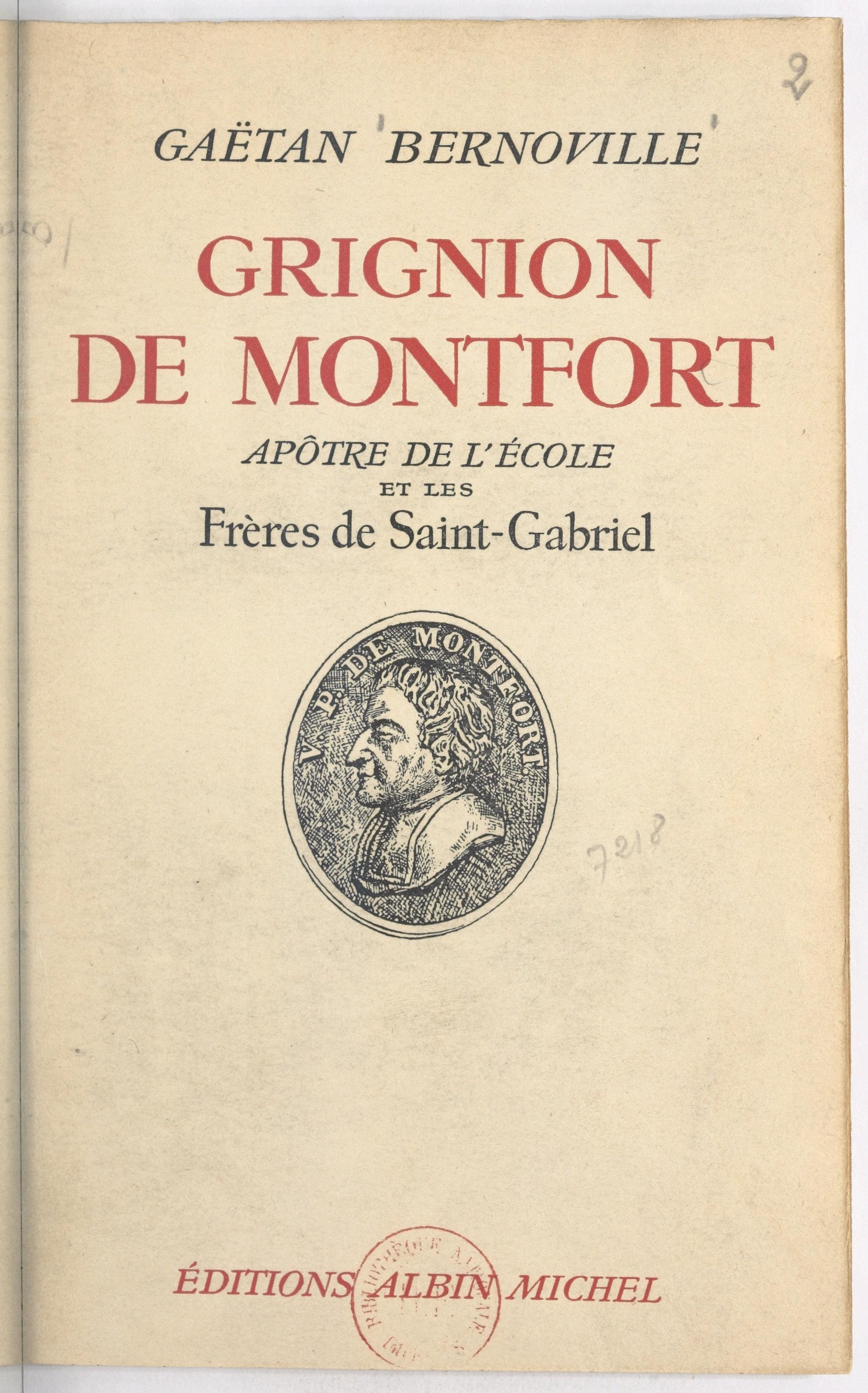 Grignion de Montfort, apôtr...