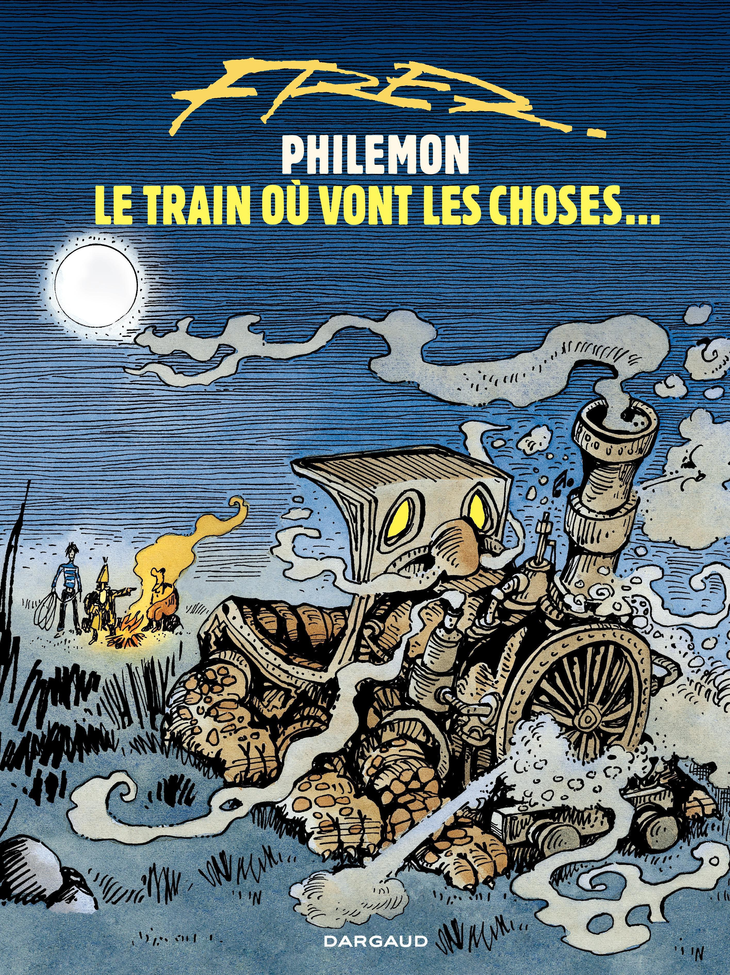Philémon - tome 16 - Le train où vont les choses…