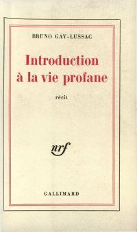 Introduction à la vie profane