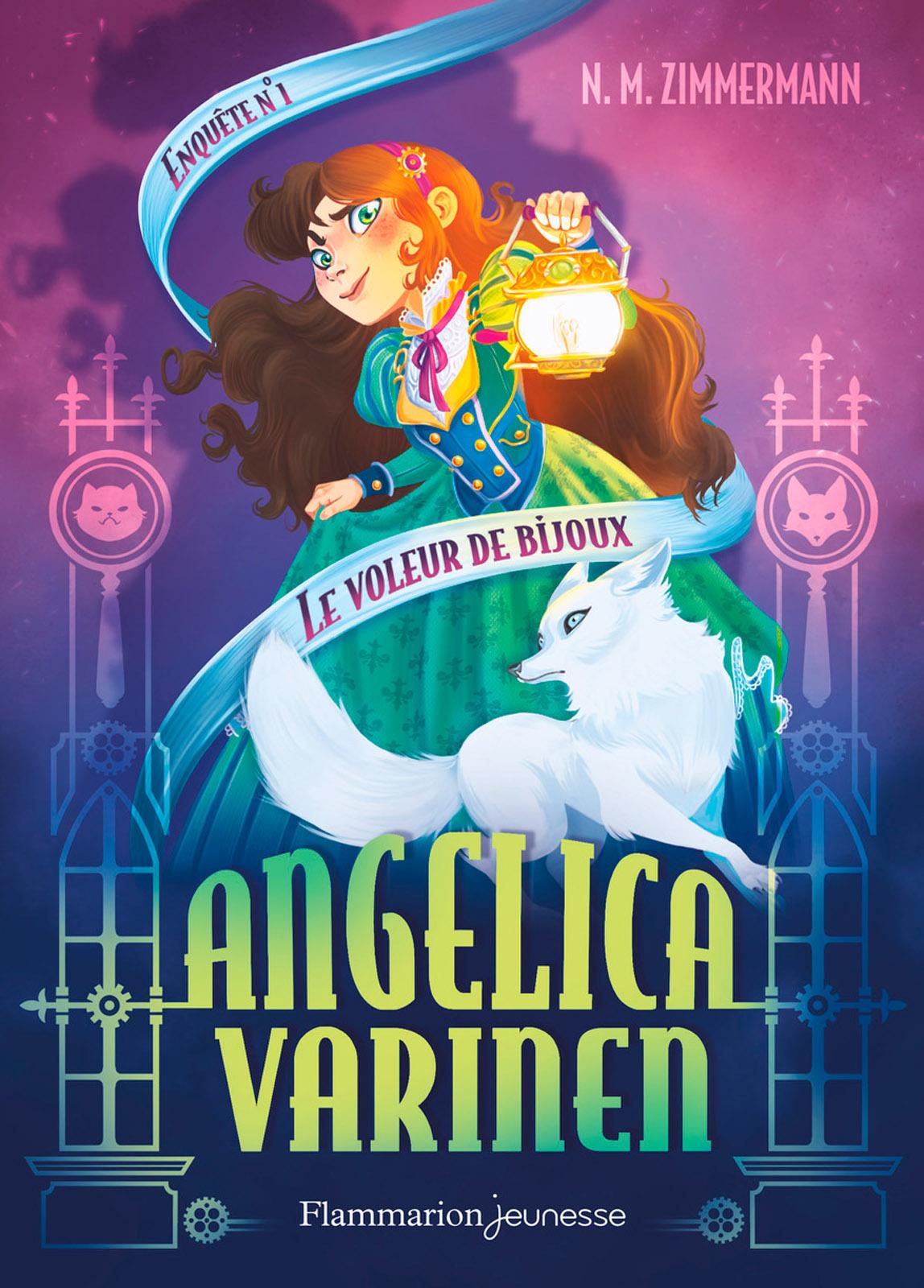 Angelica Varinen (Enquête N°1) - Le voleur de bijoux