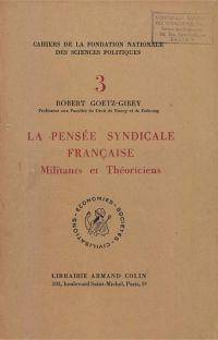 La pensée syndicale française