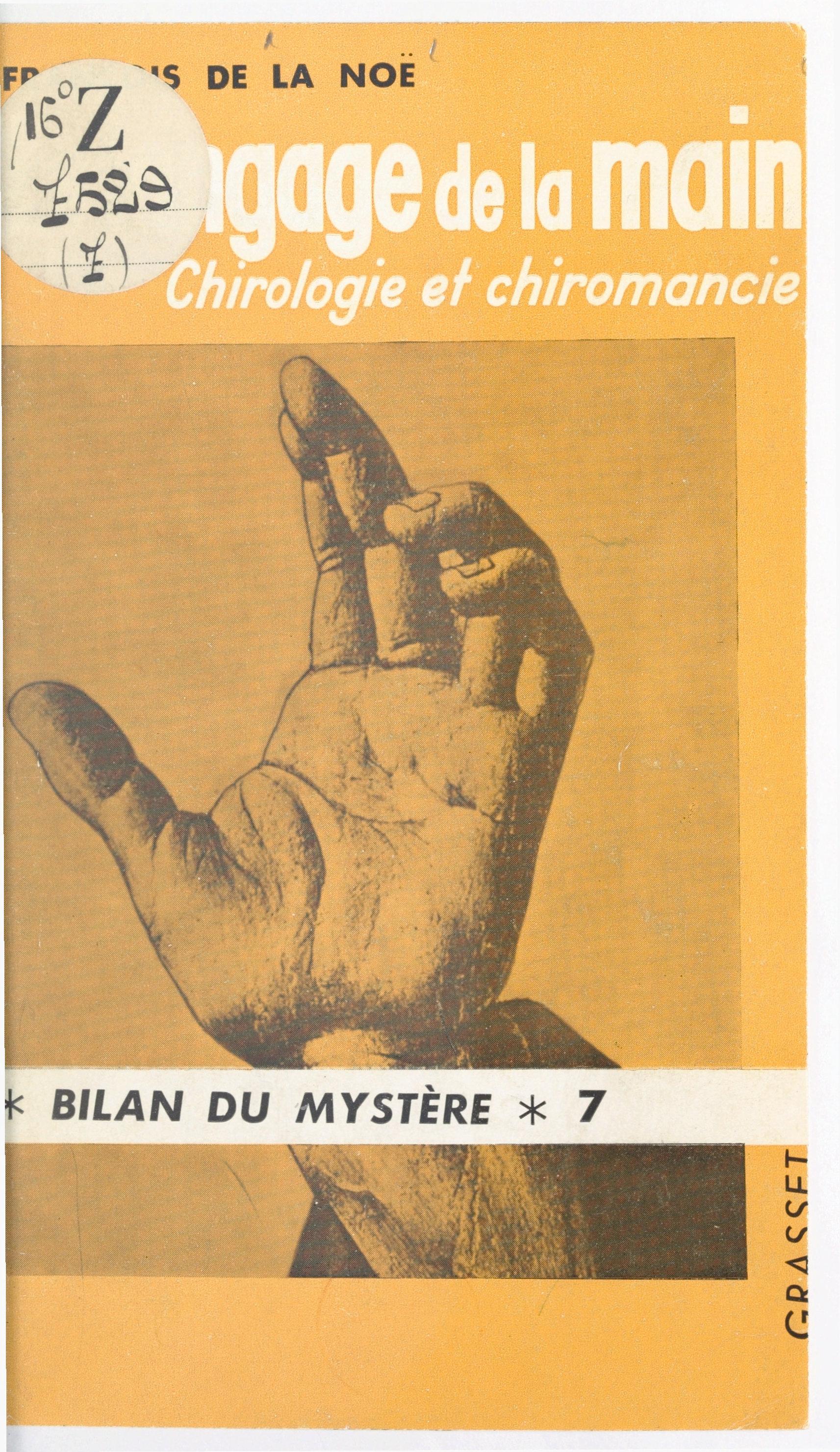 Le langage de la main
