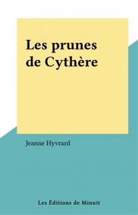 Les prunes de Cythère