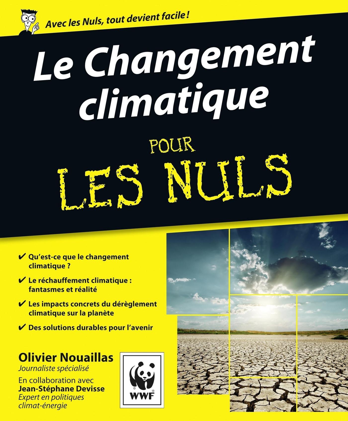 Le Changement climatique Pour les Nuls   NOUAILLAS, Olivier