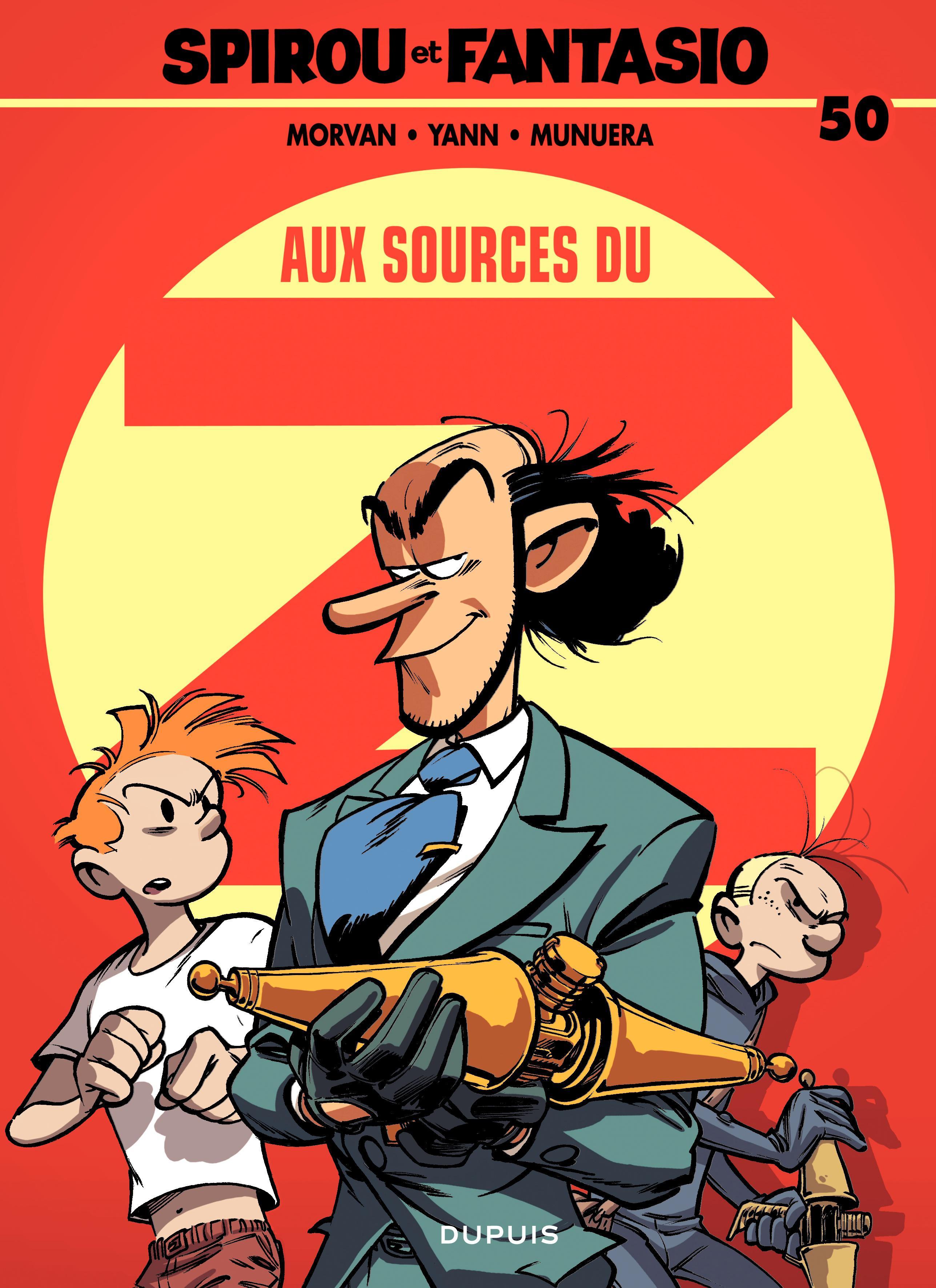 Spirou et Fantasio - tome 50 - Aux sources du Z