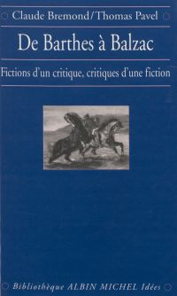 De Barthes à Balzac : ficti...