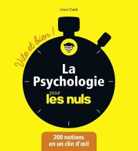 Image de couverture (La Psychologie pour les Nuls - Vite et Bien)