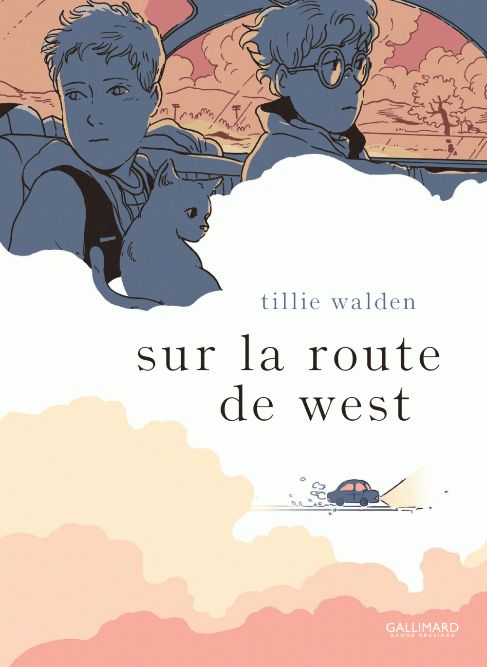 Sur la route de West | Walden, Tillie. Auteur