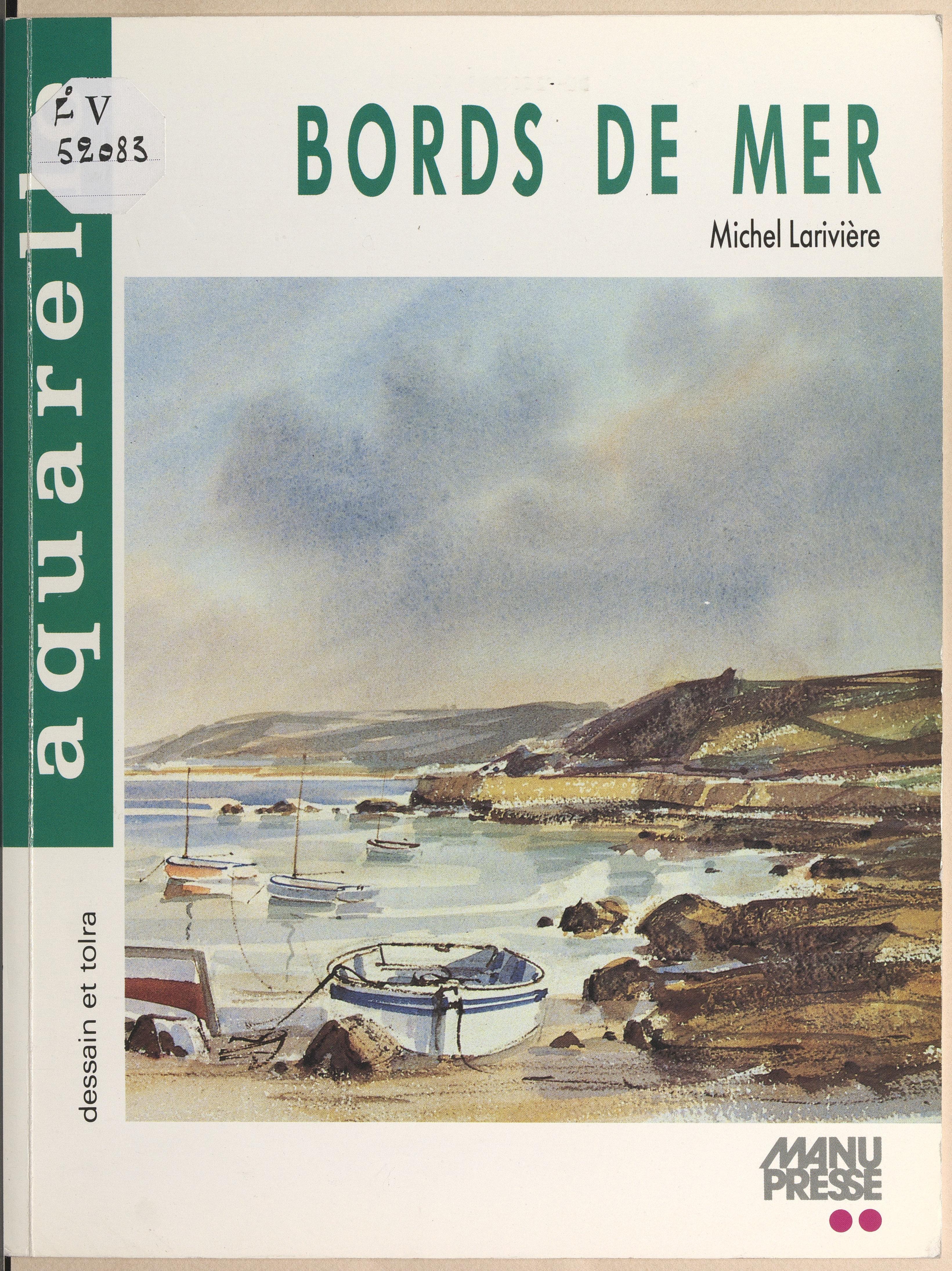 Bords de mer à l'aquarelle