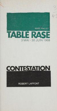 Table rase