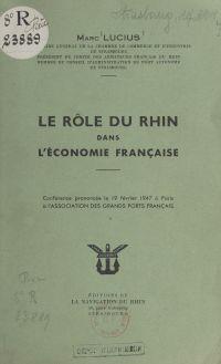 Le rôle du Rhin dans l'écon...