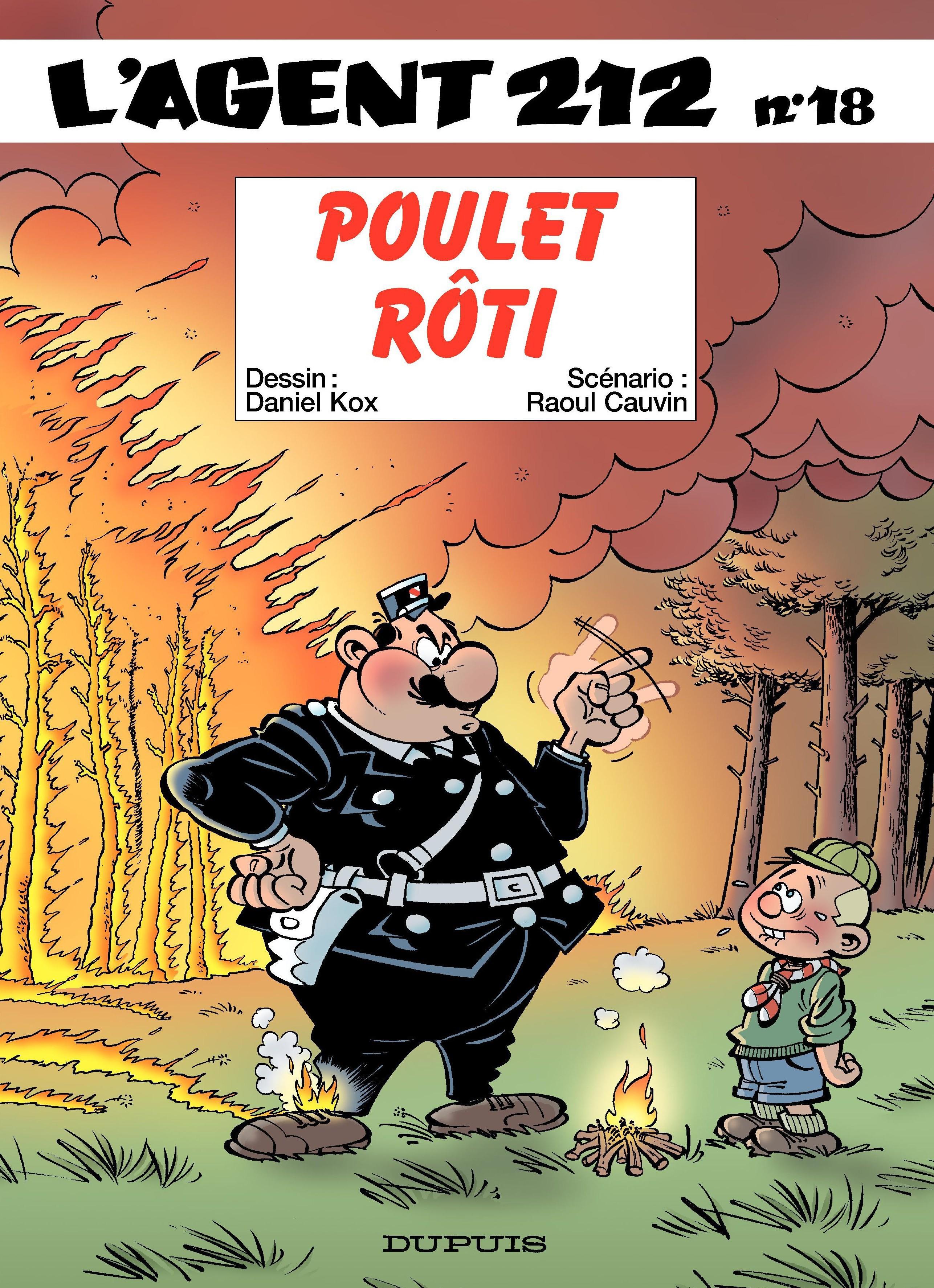 L'Agent 212 – tome 18 - POULET ROTI