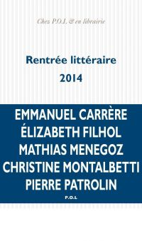 La rentrée littéraire 2014 ...